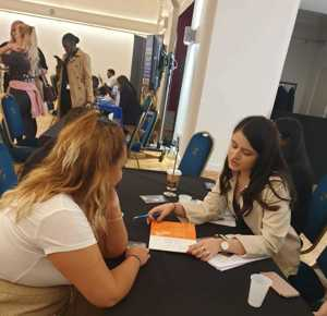 Haverstock sixth form camden london sixth form students visit social mobility careers fair october 2019 11