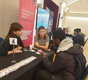 Haverstock sixth form camden london sixth form students visit social mobility careers fair october 2019 13