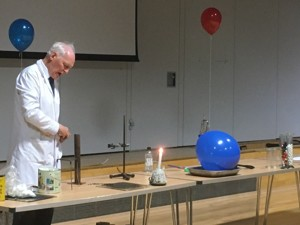 Haverstock school camden london the magic of chemistry in a show by dr szydlo