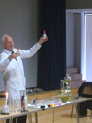 Haverstock school camden london the magic of chemistry show by dr szydlo