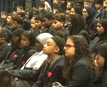Haverstock school camden london year 9 students enjoy the a chemistry show by famous dr szydlo