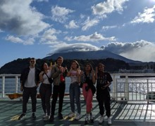Haverstock sixth form camden london sixth form students enjoy the scenery on visit to japan october 2019