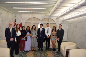Haverstock sixth form camden london sixth form students on visit to japan 2019