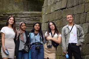 Sixth form students from haverstock sixth form camden london visit to japan october 2019