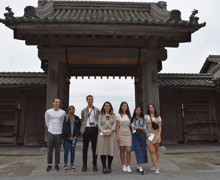 Sixth form students from haverstock sixth form camden london japan october 2019