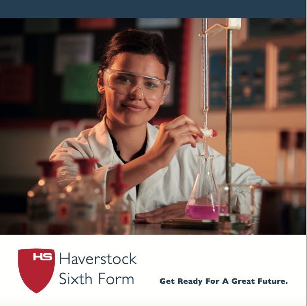 Haverstock Sixth Form Prospectus Cover 2019