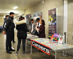 Haverstock sixth form camden london open evening 2019 students discuss careers after a level subjects