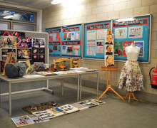 Haverstock sixth form camden london open evening 2019 our hall was filled with themed stands showing a level subjects