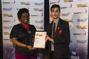 Haverstock school hosts 2019 jack petchey speak out challenge 17