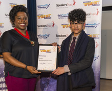 Haverstock school hosts 2019 jack petchey speak out challenge 21
