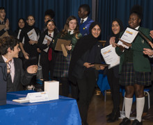 Haverstock school hosts 2019 jack petchey speak out challenge 24