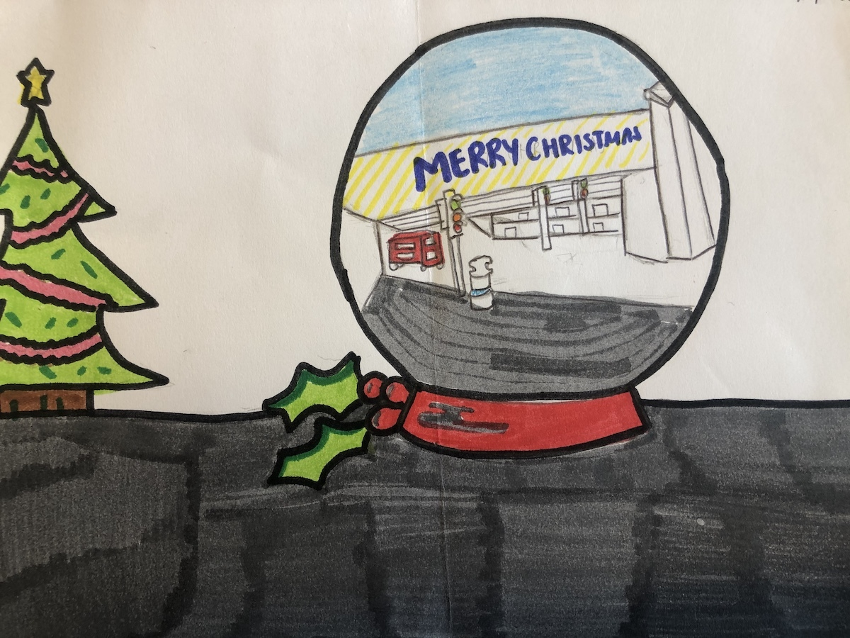 Haverstock school camden christmas card competition 2019 v1