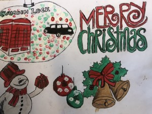 Haverstock school camden christmas card competition 2019 v2