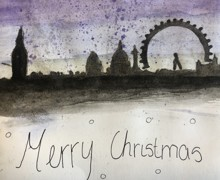 Haverstock school camden christmas card competition 2019 v3