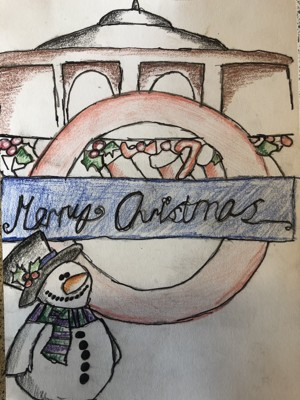 Haverstock school camden christmas card competition 2019 v4