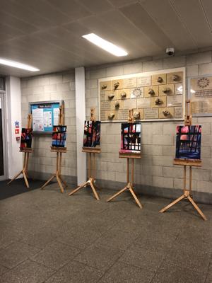 Haverstock school camden arts award students winter showcase
