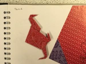 Mirain brown origami butterflies 4