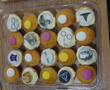 Haverstock school camden celebrates world book day harry potter cupcakes