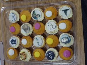 Haverstock school camden celebrates world book day harry potter cupcakes