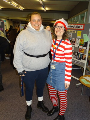 Haverstock school camden celebrates world book day staff dress as their favourite book characters