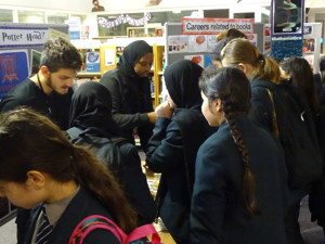 Haverstock school camden celebrates world book day pupils in the library
