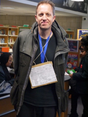 Haverstock school camden celebrates world book day headteacher james hadley