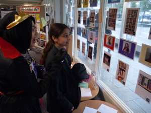 Haverstock school camden celebrates world book day students guess which is their teachers bookcase