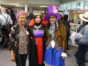 Haverstock school camden celebrates world book day as teachers dress as their favourite literary characters
