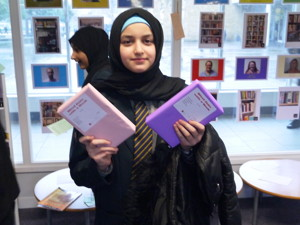 Haverstock school camden celebrates world book day with a blind date books game