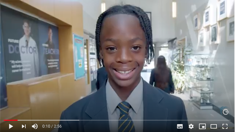 Haverstock students show you around the school and explain what it was like to join in Year 7.