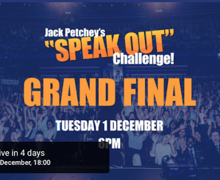 Haverstock student in jack petchey grand final poster