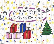 Haverstock school christmas card competition 5