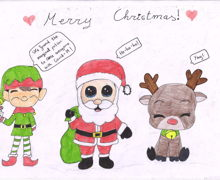Haverstock school christmas card competition 4