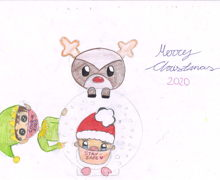 Haverstock school christmas card competition 3