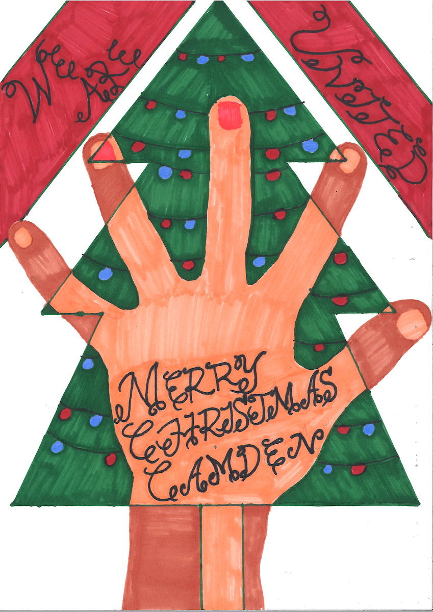 Haverstock school christmas card competition 2