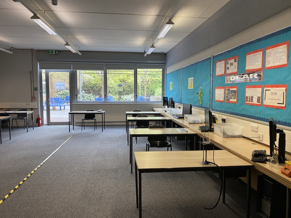 The crib bright and spacious classrooms